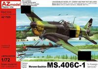 "Morane-Saulnier MS.406C-1 ""In Foreign Services"""