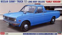 "Nissan Sunny Truck 1973 (GB120) Long Body Deluxe ""Early Version"""
