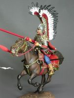 Polish Hussar second half  XVII c.
