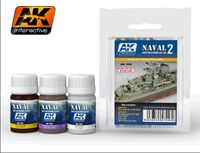 AK 556 Naval Ships Weathering Set vol.2