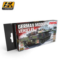 MC-802 German Modern Vehicles Color Set