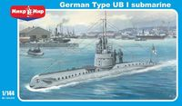 UB-1 German submarine