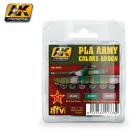 4260 PLA Army Colors Add-On Colors Set