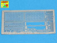 Grilles for Russian Tank T-55A also for T-55 ENIGMA - 35 G29