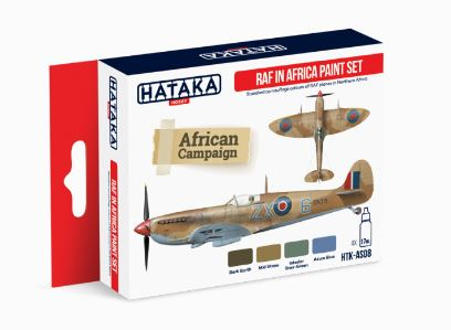 HTK-AS08 RAF in Africa paint set - Image 1