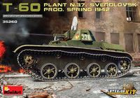 T-60 Sverdlovsk Plant Nr. 37 Production, 1942 with Interior Kit - Image 1