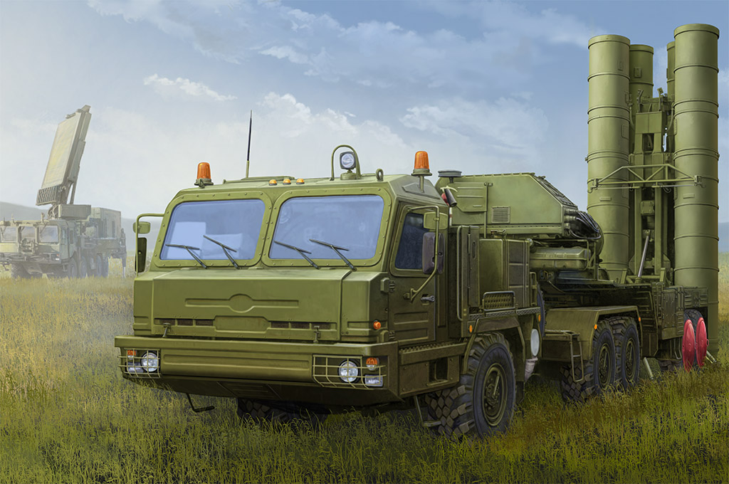 Russian BAZ-64022 with 5P85TE2 TEL S-400 - Image 1