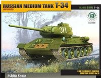 Russian Medium Tank T-34 (motorized) - Image 1