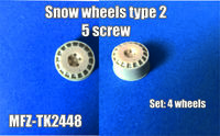Snow wheels type 2, 5 screw - Image 1