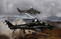 Arms straight 10 attack helicopters - Image 1