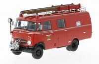 Mercedes-Benz L319 Fire Brigade Luebeck Box Wagon 1961