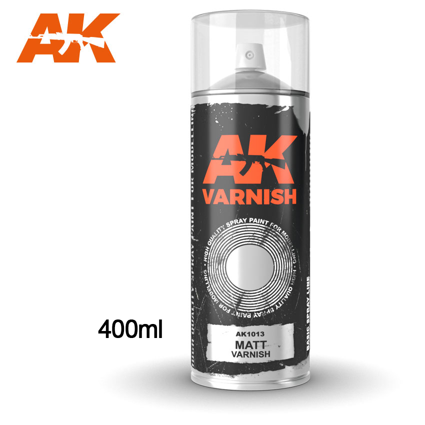 AK1013 MATT VARNISH SPRAY - Image 1