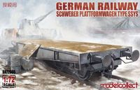 German Railway Schwerer Plattformwagen Type SSys 1+1 (2 kits on the box)