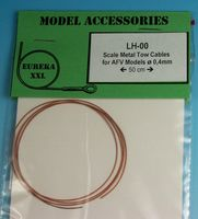 0.4mm Metal wire rope for AFV Kits