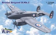 Bristol Brigand B.Mk.I British light and fast bomber