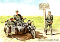 German motorcyclists, 1940-1943