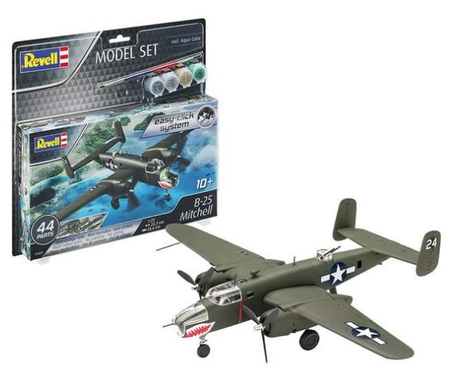 B-25 Mitchell easy-click system Model Set - Image 1