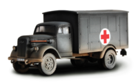 German 4x4 Ambulance - France, 1940