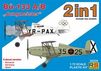 "Bucker 133 A/B ""Jungmeister""/2in1/"