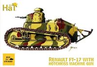 Renault FT-17 with Hotchkiss Machine Gun (2pcs) - Image 1