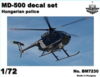 MD-500 heli. Police HUN markings