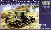 T-26 w/Cylindrical Turret