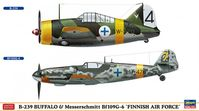 B-239 Buffalo & Messerschmitt Bf109G-6 `FAF` (Set of 2) - Image 1