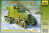 BA-3 mod. 1934 Soviet WW2 Armored Car - Image 1