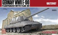 Germany WWII E-100 Flakpanzer with FLAK 88 - Image 1