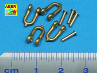 Early model shackle for Pz.Kpfw.VI Tiger Ausf B x 4 pcs - Image 1