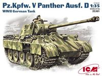 Pz.Kpfw.V Panther Ausf.D German WW2 Tank