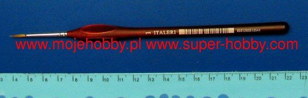 Size 1 Round Italeri 51254 Sable Hair Paint Brush