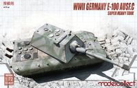 Germany WWII E-100 Ausf.C Super Heavy Tank with Krupp turret - Image 1