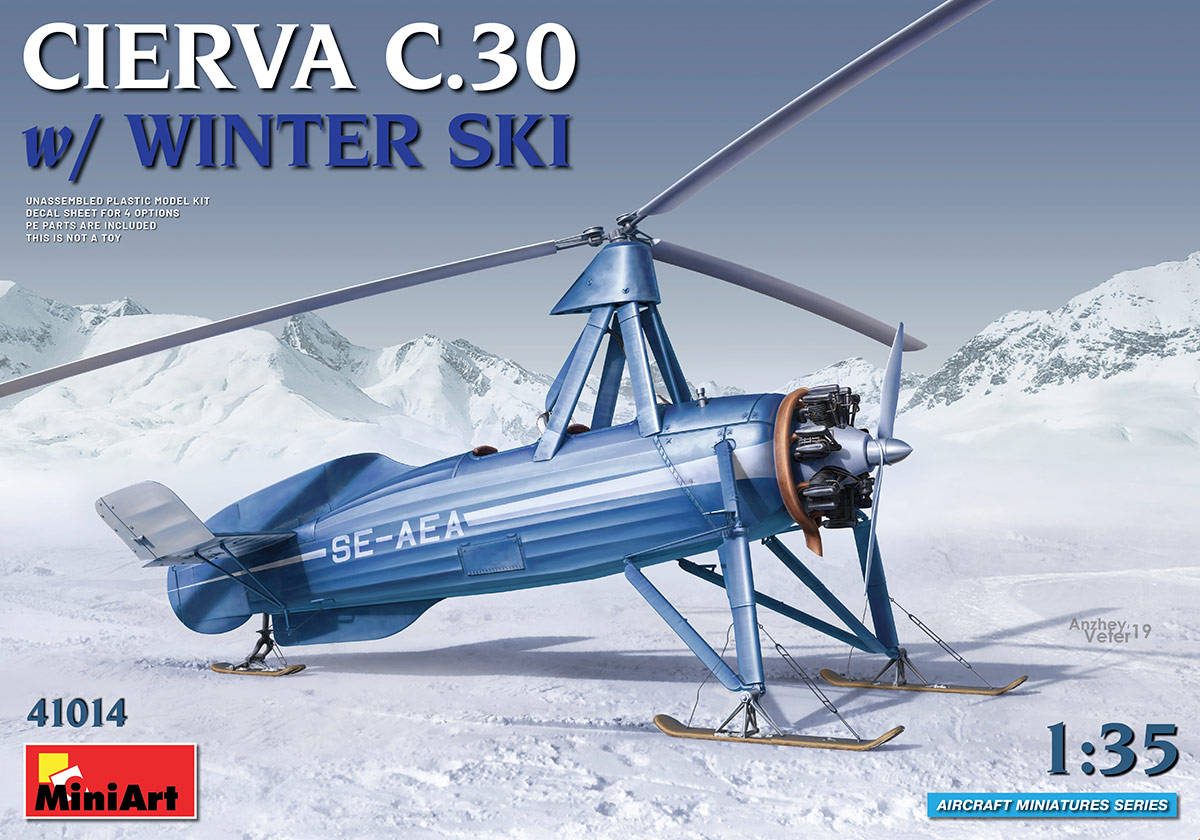 Cierva C.30 with Winter Ski - Image 1