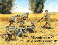 Counterattack Soviet infantry, summer 1941 - Image 1