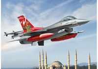 Turkish Air Force F-16C 143rd squadrons 20th anniversary of flying Anatolian Eagle 2015 - Image 1