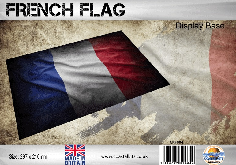 French Flag 297 x 210mm - Image 1