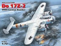 Do 17Z-2, WWII German Bomber