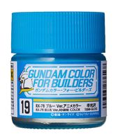 UG19 RX-78 Blue Ver. ANIME COLOR (Semi-Gloss)