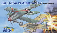 RAF SE.5a vs. Albatros D.V (Dual Combo with 2 of each kits) - Image 1