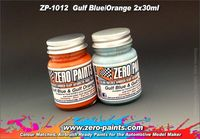 1012 Gulf Blue and Orange Set