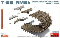 T-55 RMSh Workable Track links Early Type
