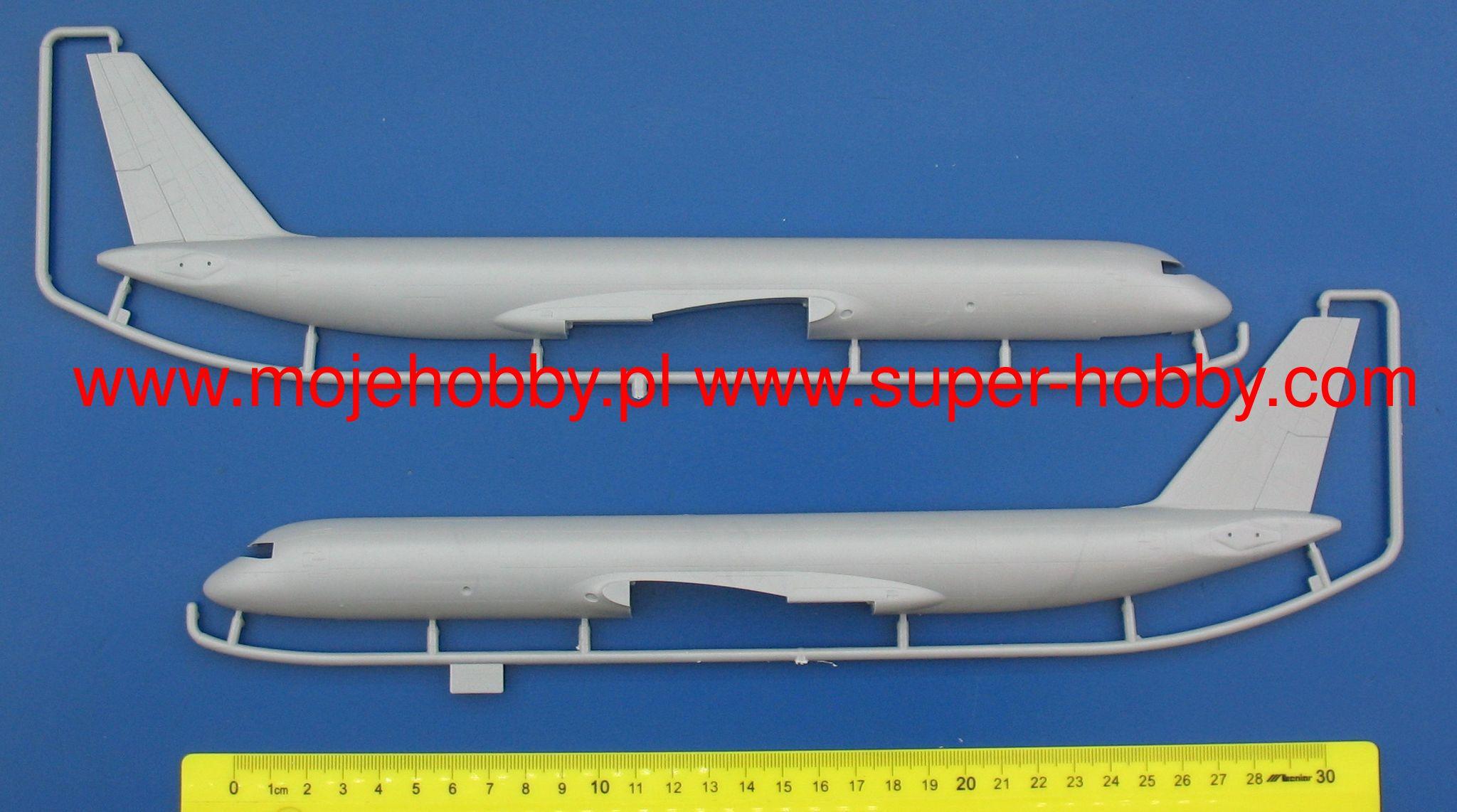 Zvezda 1//144 TUPOLEV TU-204-100C Cargo Avion # 7031