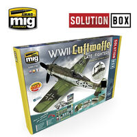 7702 WWII Luftwaffe late Fighter Solution Box