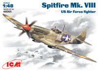 Spitfire Mk .VIII  WWII British fighter - Image 1