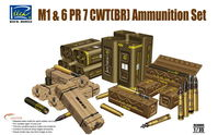 American M1 & and 6 PR 7 CWT(BR) Ammunition Set