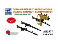 GERMAN INFRARED NIGHT-VISION DEVICES INFRAROT-SCHEINWERFER