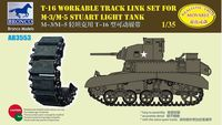 T16 Workable Track Link Set for M3/M5 Staurt Light Tank - Image 1