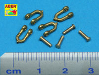 Early model shackle for Pz.Kpfw.Vpanther x 4pcs - Image 1