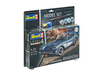 58 Corvette Roadster Model Set